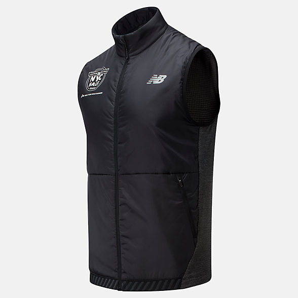 New Balance 2020 United Airlines Half NB Heat Grid Vest, MV01274CHC