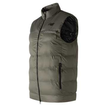 New Balance 247 Sport Thermal Vest, Military Foliage Green