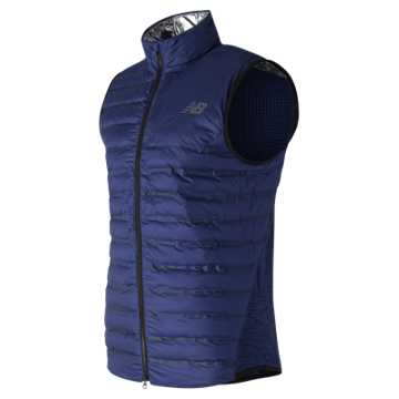 New Balance NB Radiant Heat Vest, Techtonic Blue