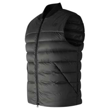 New Balance NB Heat Down 600D Vest, Black