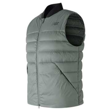 New Balance NB Heat Down 600D Vest, Seda Sage