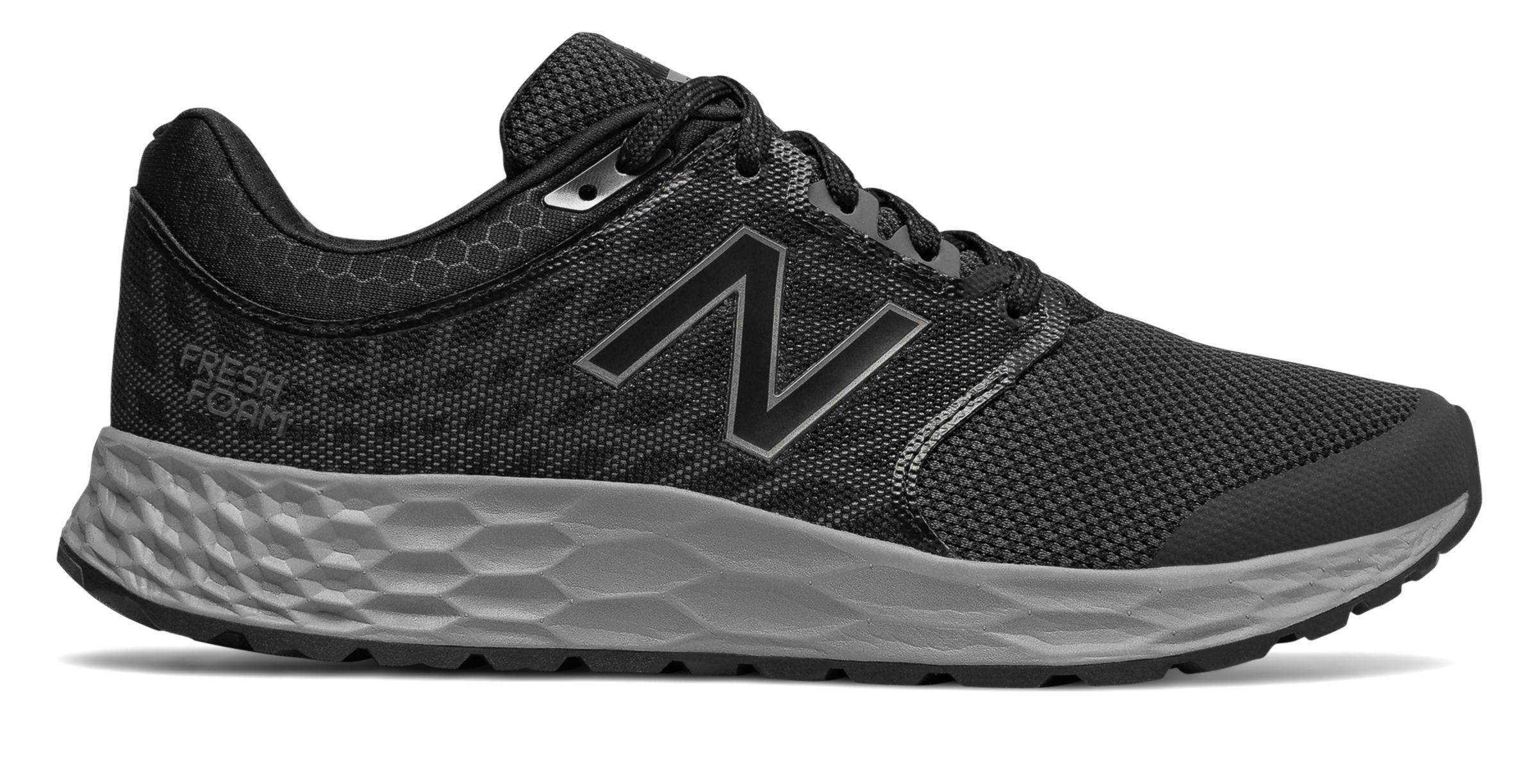 new balance black fresh foam