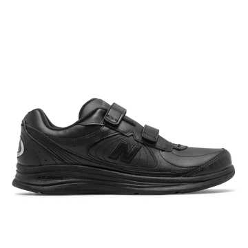 New Balance Men's Hook and Loop 577, Black Hook and Loop