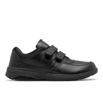New Balance Men's Hook and Loop 813, Black