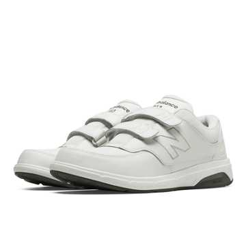 New Balance Men's Hook and Loop 813, White