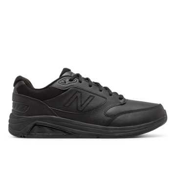 New Balance Men's Leather 928v3, Black