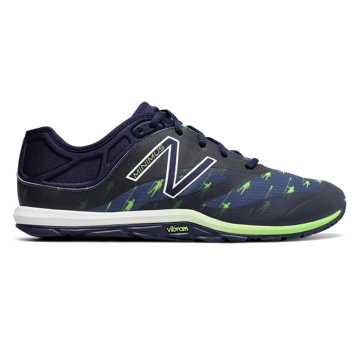 New Balance HOCR Minimus 20v6 Trainer, Pigment with Energy Lime
