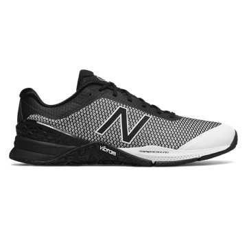 New Balance Minimus 40 Trainer, Black with White