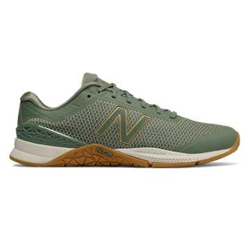 New Balance Minimus 40 Trainer, Vintage Cedar with Waxed Canvas