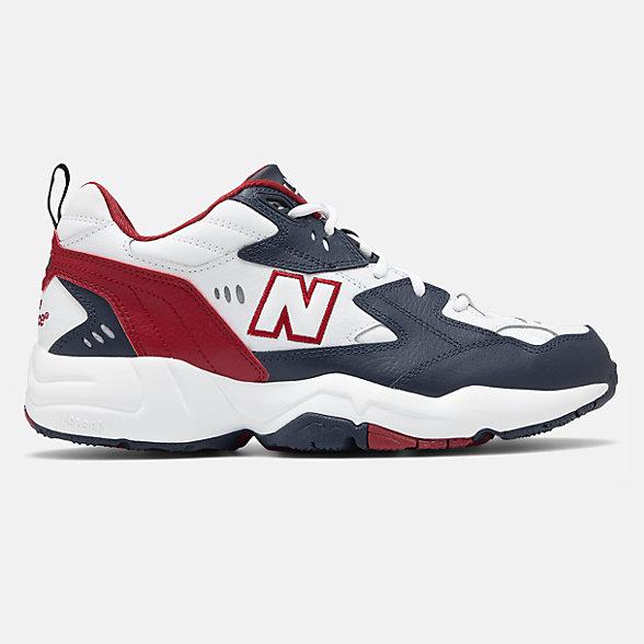 New Balance 608系列男款复古老爹鞋, MX608BR1