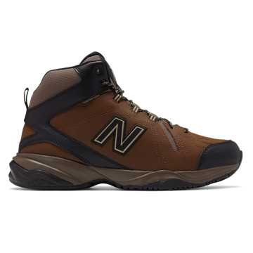 New Balance Mens 608v4, Brown with Black