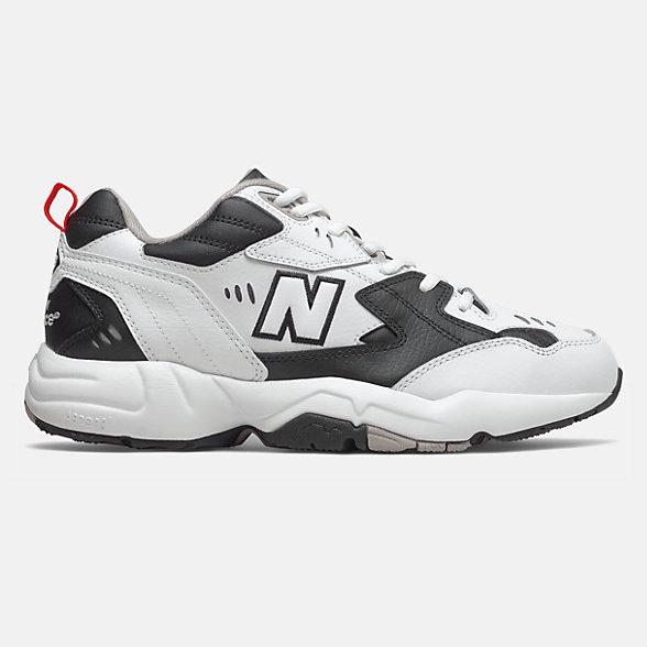 New Balance 608系列男款复古老爹鞋, MX608RB1