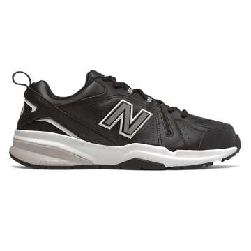 New Balance 608v5, Black with White