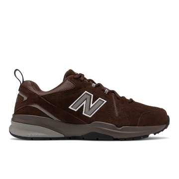 New Balance 608v5, Chocolate Brown with White