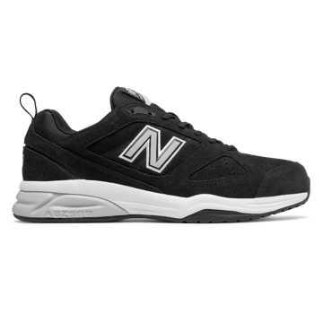 New Balance New Balance 623v3 Suede Trainer, Black
