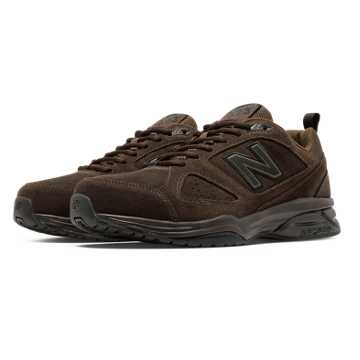 New Balance New Balance 623v3 Suede Trainer, Brown