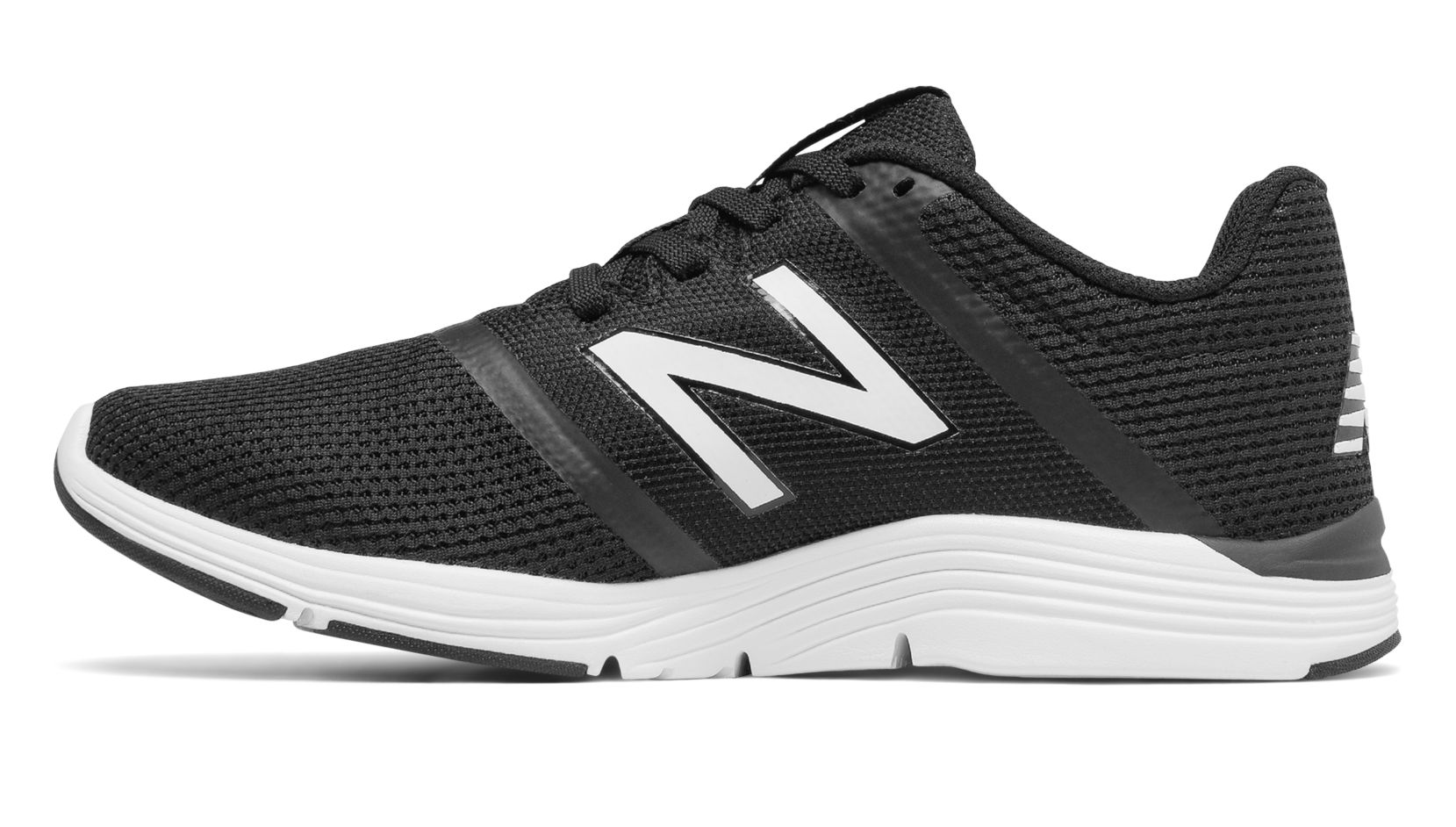 NB New Balance 818v2 Trainer, Black with White & Outerspace