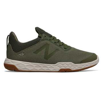 New Balance Fresh Foam 818v3, Dark Covert Green with Silver Mint