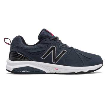 New Balance Mens New Balance 857v2 Suede, Charcoal Blue