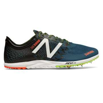 New Balance XC5000v3 Spike, Moroccan Blue with Black