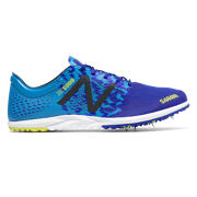 New Balance XC5000v3 Spike, Silver with Blue