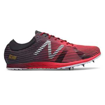 New Balance XC5Kv4, Bright Cherry with Burgundy