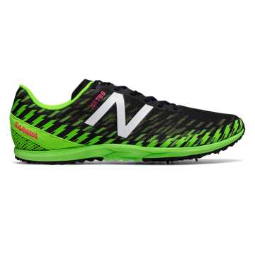 New Balance XC700v5 Spike, Thunder with Energy Lime