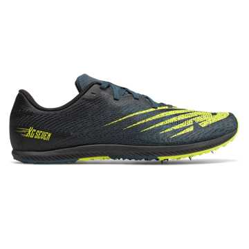 New Balance XC Seven v2, Supercell with Sulphur Yellow