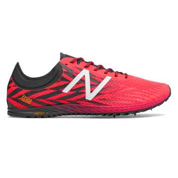 New Balance XC900 Spike, Bright Cherry with Black