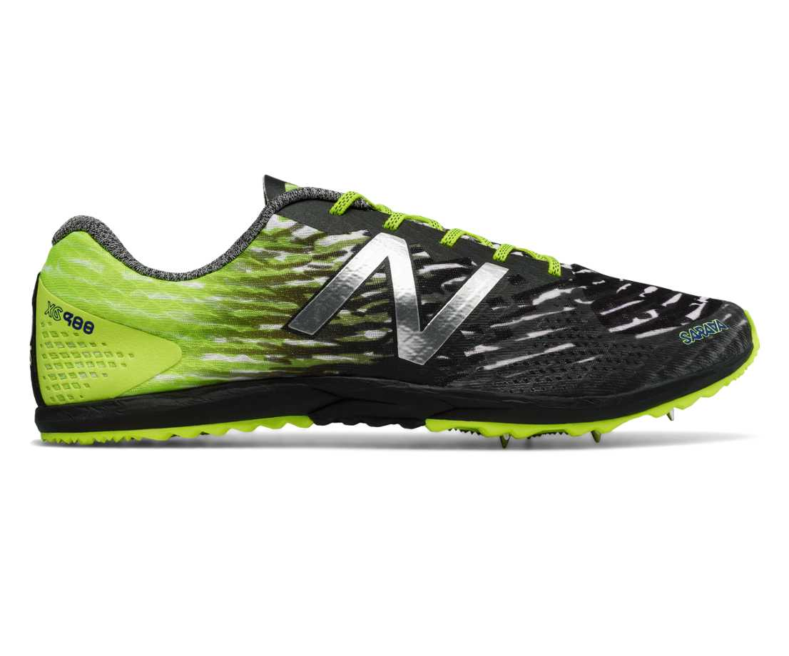 New Balance XC900v3 Spike, Hi-Lite with Black