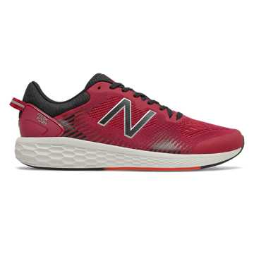 New Balance Fresh Foam Cross TR, Neo Crimson with Neo Flame & Black