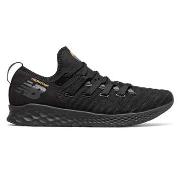 New Balance Fresh Foam Zante Trainer, Black with Magnet & Gold