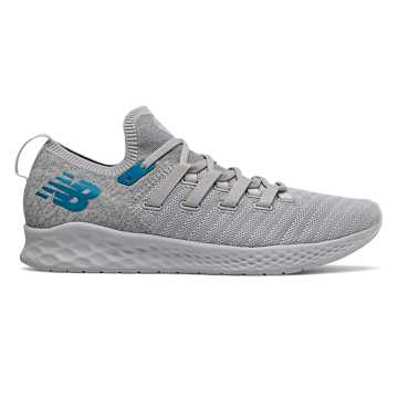 New Balance Fresh Foam Zante Trainer, Rain Cloud with Light Aluminum & Deep Ozone Blue