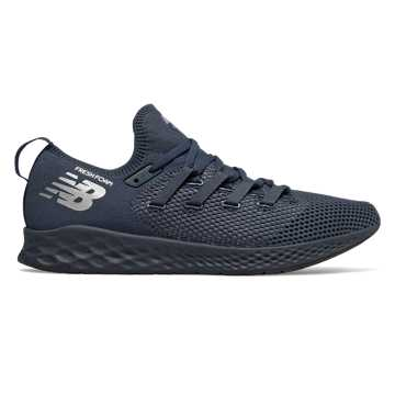 New Balance Fresh Foam Zante Trainer, NB Navy with Pigment & Metallic Silver