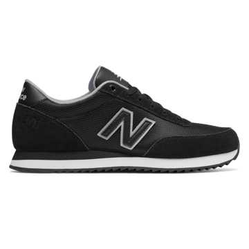 New Balance 501 Core, Black with Silver Mink