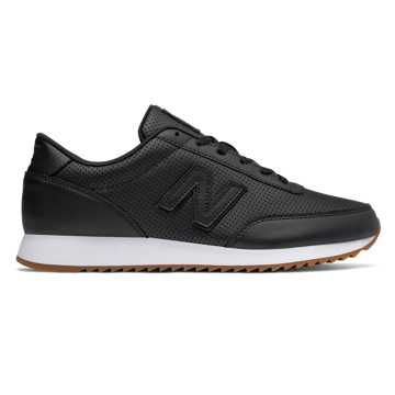 New Balance 501 Leather, Black