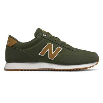 New Balance 501 Ripple Sole, Dark Covert Green with Tarnish