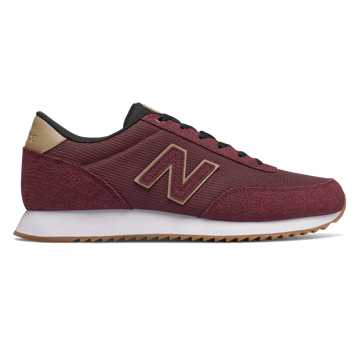 New Balance 501, Burgundy with Hemp