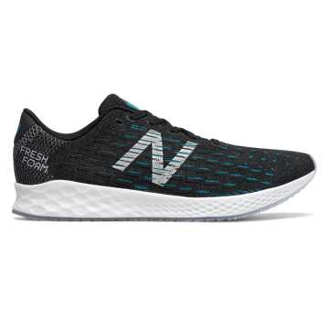 New Balance FreshFoam Zante男款跑步鞋 轻盈舒适, 黑色/蓝色