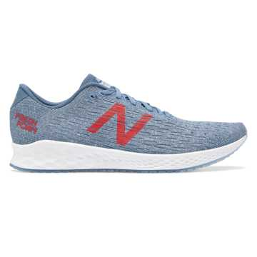New Balance Fresh Foam Zante Pursuit, Chambray with Lyons Blue & Energy Red