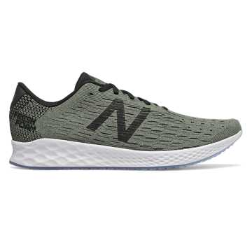 New Balance Fresh Foam Zante Pursuit, Mineral Green with Black