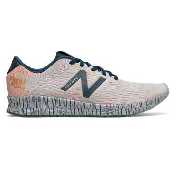 New Balance Fresh Foam Zante Pursuit United Airlines NYC Half, Bluefog with Mango & Bleached Lime Glo