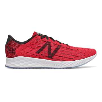 New Balance Fresh Foam Zante Pursuit, Energy Red with Team Red & Black