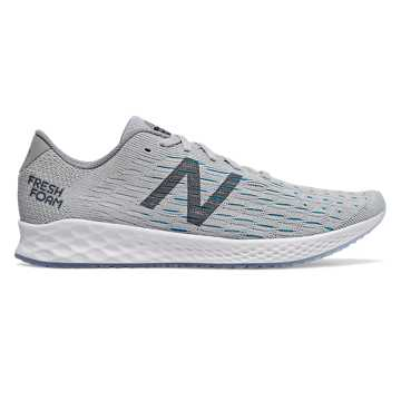 New Balance Fresh Foam Zante Pursuit, Light Aluminum with Steel & Deep Ozone Blue