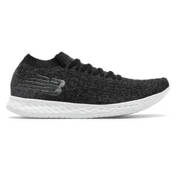 New Balance Fresh Foam Zante Solas, Black with Lead & White