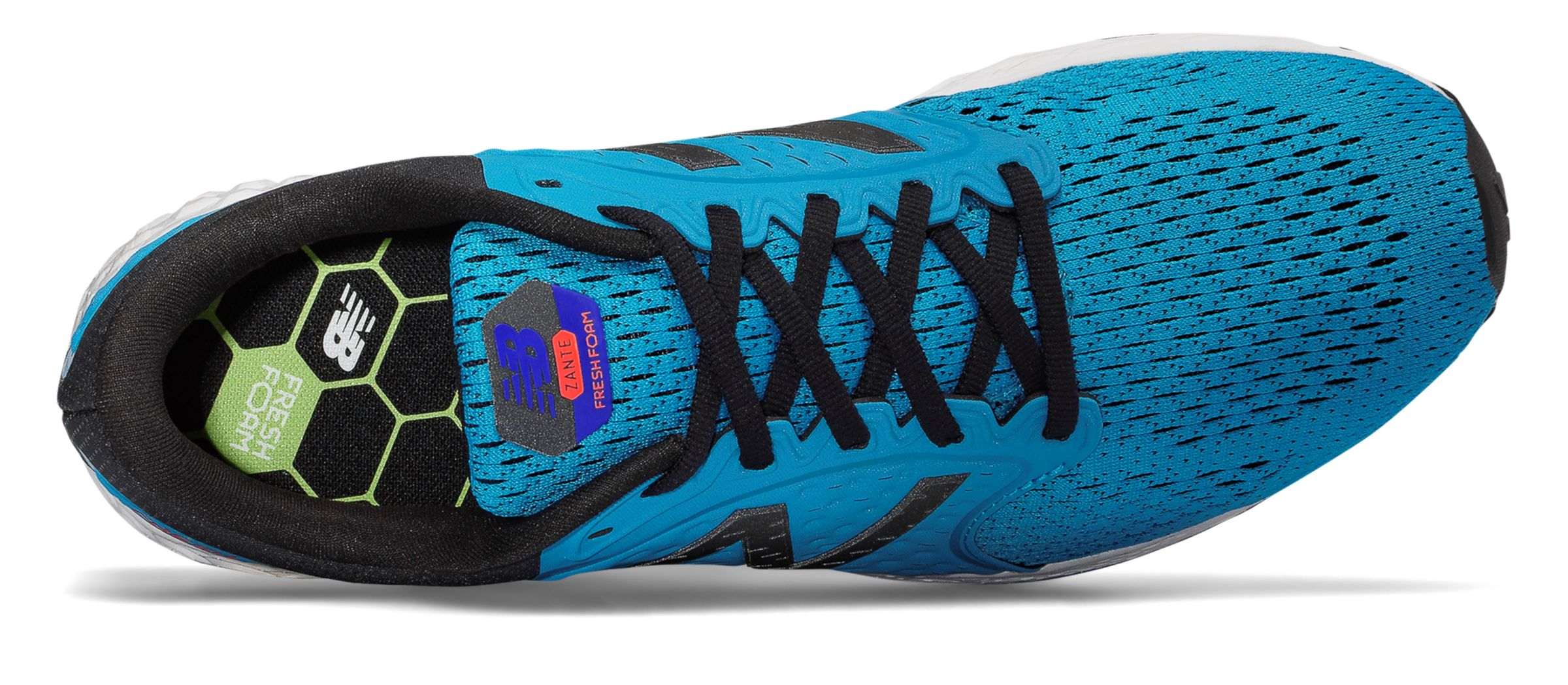 NB Fresh Foam Zante v4, Maldives Blue with Black