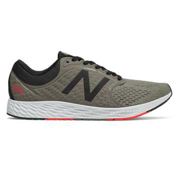 New Balance Fresh Foam Zante v4, Military Urban Grey with Black