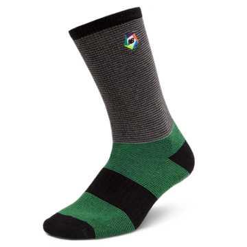 New Balance Boroughs Sock, Green