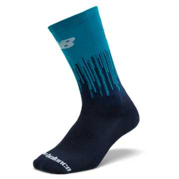 New Balance Boston Sock, Maldives Blue with Pigment