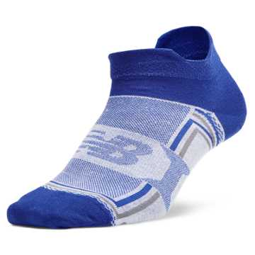 New Balance Hydrotec® Tab No Show 1 pair, Royal Blue with White